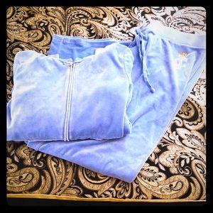 Juicy Couture Emblem Velour Jacket & Pants XL